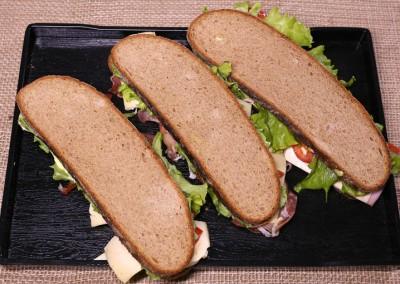 Пълнозърнести сандвичи