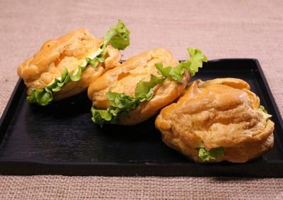 Сандвичи с хлебче паташу