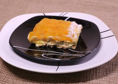 Торта манго и ананас