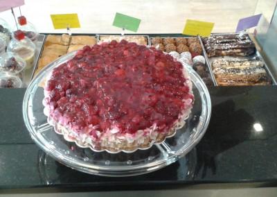 Тарт с малини